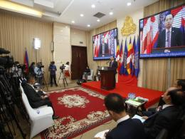 "Press conference on ""Climate Change and its Impact on Cambodia"""